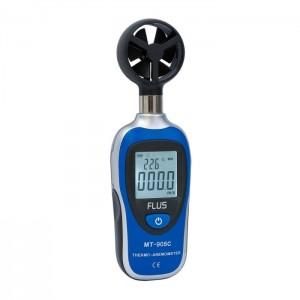 Анемометр з термометром портативний Flus MT-905C