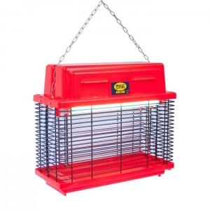 Електричний знищувач літаючих комах Mo El CriCri 309Fluo (Red)