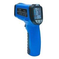 Пірометр - інфрачервоний термометр з термопарою Flus IR-818