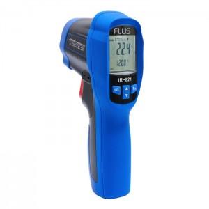 Пірометр - інфрачервоний термометр з термопарою Flus IR-821