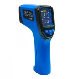 Пірометр - інфрачервоний термометр з термопарою Flus IR-833