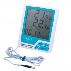 Термогігрометр кімнатний Flus FL-201W