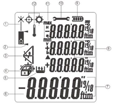 Экран лазерного дальномера Flus FL-40-60-80-100